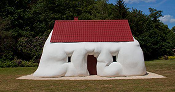 Mostra O Corpo é a Casa, de Erwin Wurm, estreia no Centro Cultural Banco do Brasil no aniversário de SP Eventos BaresSP 570x300 imagem