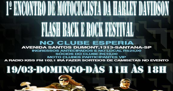1º Encontro de Motociclista da Harley Davidson acontece no Clube Esperia Eventos BaresSP 570x300 imagem
