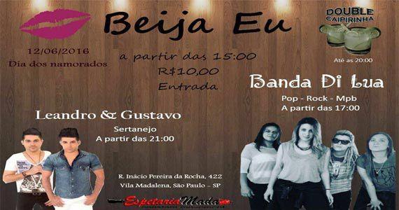 Festa Beija Eu com banda Di Lua e a dupla Leandro e Gustavo na Espetaria Mada Eventos BaresSP 570x300 imagem