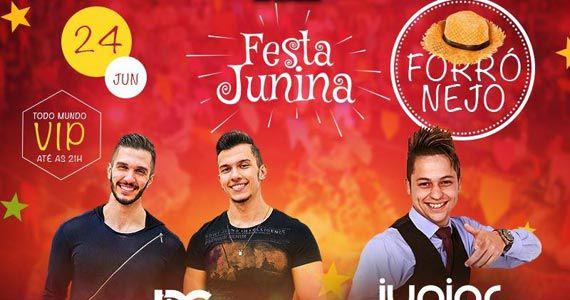 Festa Junina do Espetinho do Juiz Patriarca com D'Lucca e Gabriel e Junior Cavanne Eventos BaresSP 570x300 imagem