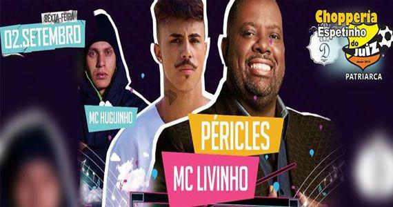 Espetinho do Juiz recebe o cantor Péricles e MC Livinho para animar a noite Eventos BaresSP 570x300 imagem