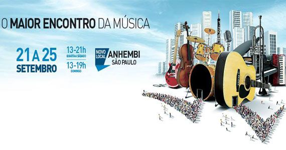 ExpoMusic 2016 acontece de 21 a 25 de setembro no Anhembi Eventos BaresSP 570x300 imagem