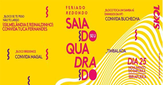 Festa Redondo comemora aniversário de SP com bloco de carnaval no Monumento às Bandeiras Eventos BaresSP 570x300 imagem
