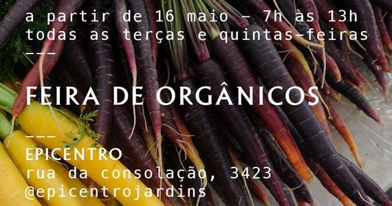 Feira de Orgânicos no Epicentro Jardins