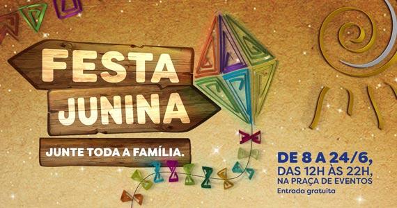 Shopping Center Norte realiza sua tradicional Festa Junina com atrações típicas Eventos BaresSP 570x300 imagem