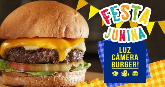 Luz, Câmera, Burger realiza Festa Junina com burger e comidas típicas BaresSP