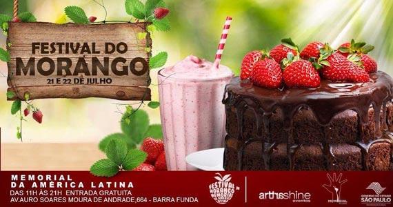 12º edição do Festival do Morango acontece no Memorial da América Latina Eventos BaresSP 570x300 imagem