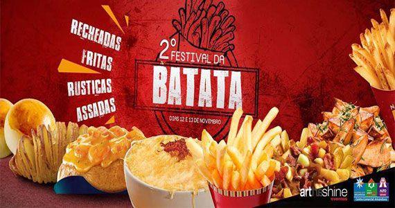2º Festival da Batata acontece no Shopping Interlar Aricanduva com entrada gratuita Eventos BaresSP 570x300 imagem