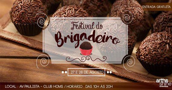 2º Festival do Brigadeiro acontece no Club Homs com delícias do doce Eventos BaresSP 570x300 imagem
