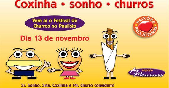 2º Festival da Coxinha, Sonhos e Churros traz muitas gostosuras para o Centro de Eventos São Luís Eventos BaresSP 570x300 imagem