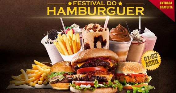 Festival do Hambúrguer acontece pela primeira vez no Parque Ceret Eventos BaresSP 570x300 imagem
