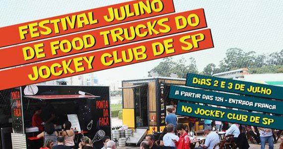 Festival Julino de Food Trucks no Jockey Club de São Paulo Eventos BaresSP 570x300 imagem