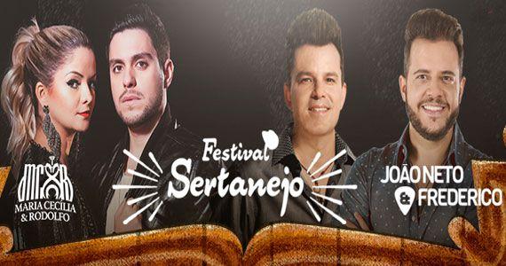 Festival Sertanejo com João Neto & Frederico e Maria Cecília & Rodolfo no Villa Country Eventos BaresSP 570x300 imagem