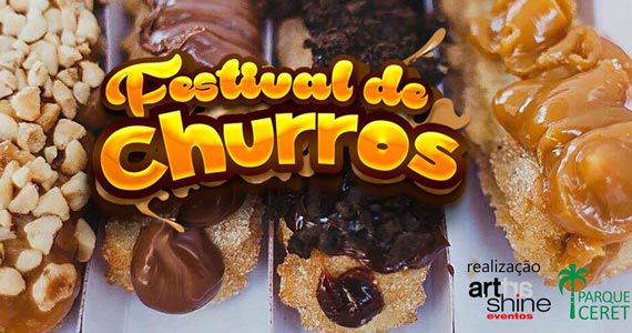 3ª edição do Festival de Churros acontece no Ceret com muitas opções de sabores Eventos BaresSP 570x300 imagem