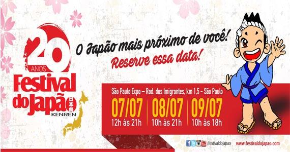feira-gastronomicas 20º Festival do Japão acontece no São Paulo Expo apresentando as tradições japonesas  BaresSP