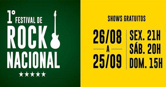 1º Festival de Rock Nacional invade o The Square com show gratuitos Eventos BaresSP 570x300 imagem