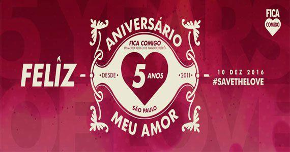 Bloco Fica Comigo comemora 5 anos com festa especial no Espaço Villa Lobos Eventos BaresSP 570x300 imagem