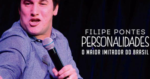 Filipe Pontes realiza show Personalidades com stand up e imitações no Honda Hall Eventos BaresSP 570x300 imagem