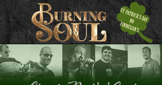 Bandas Fianna Irish Music, Double Z e Burning Soul animam a sexta do Finnegans Pub