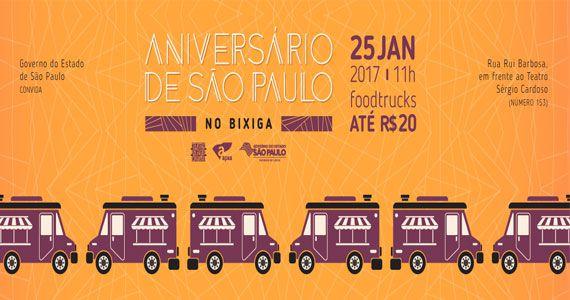Aniversário de São Paulo com Food Trucks até R$20 no Bixiga Eventos BaresSP 570x300 imagem
