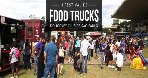 II Festival de Food Trucks com entrada gratuita no Jockey Club de São Paulo Eventos BaresSP 570x300 imagem