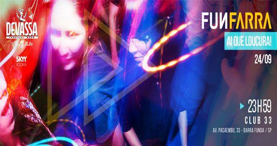 Festa Funfarra edição especial esquenta de aniversário no Club 33 Eventos BaresSP 570x300 imagem