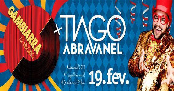 Gambiarra - O Bloco faz Carnaval junto a Tiago Abravanel na Faria Lima Eventos BaresSP 570x300 imagem