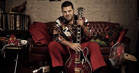 O melhor do rock e pop internacional e nacional com a Giba Byblos Band no The Blue Pub Eventos BaresSP 570x300 imagem