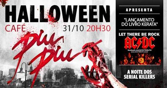 Um terrível serial killer promete invadir o Café Piu Piu durante sua Festa de Halloween Eventos BaresSP 570x300 imagem