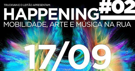 2ª edição da festa Happening com muita música, arte e cultura no O Leitão Eventos BaresSP 570x300 imagem