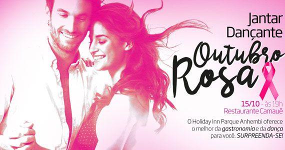 Jantar Dançante do hotel Holiday Inn Parque Anhembi apoia campanha Outubro Rosa Eventos BaresSP 570x300 imagem