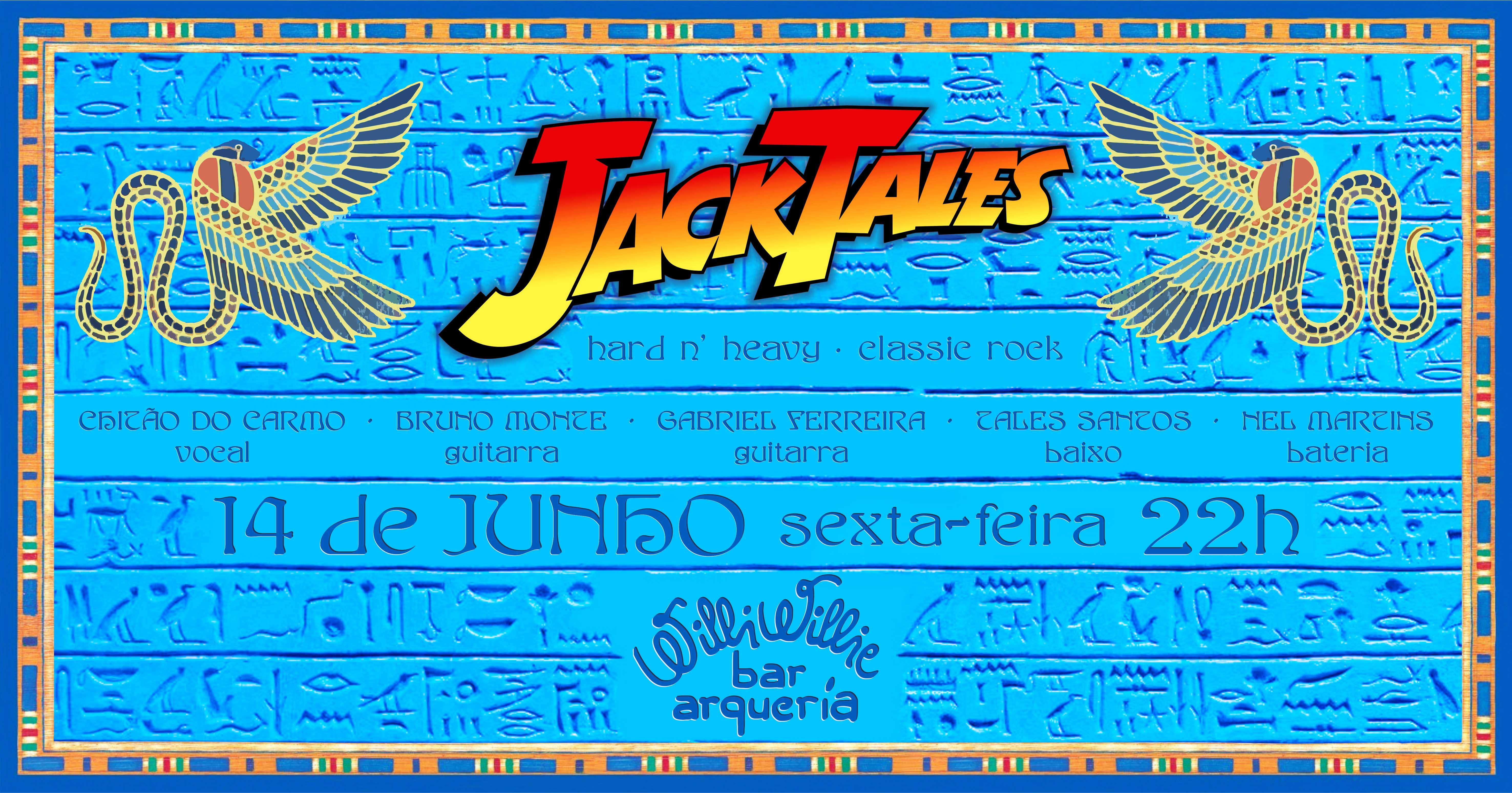 Programação - Jack Tales Band (Hard/Classic Rock)