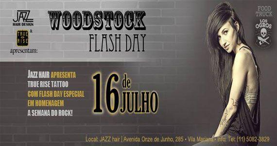 Woodstock Flash Day em homenagem a semana do rock no Jazz Hair Eventos BaresSP 570x300 imagem