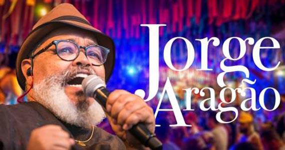 Templo Bar de Fé traz show de Jorge Aragão cantando os sucessos de mais de 40 anos de carreira Eventos BaresSP 570x300 imagem