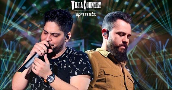 Jorge e Mateus voltam a se apresentar no palco do Villa Country com nova turnê Eventos BaresSP 570x300 imagem