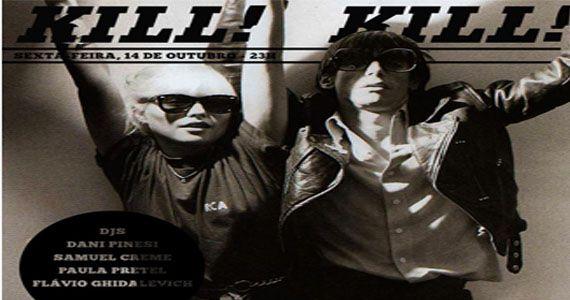Direto das profundezas do rock'n'roll: KILL! KILL! no Alberta#3 Eventos BaresSP 570x300 imagem