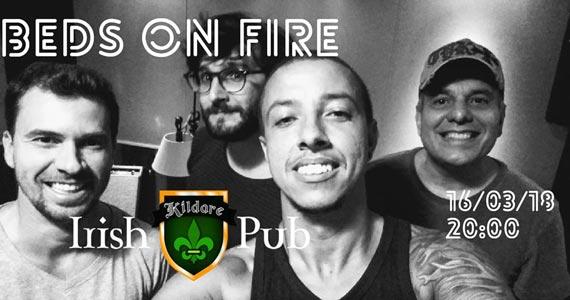 Bandas London Seven, Beds On Fire e Gaita de Fole animam a sexta-feira do Kildare Irish Pub