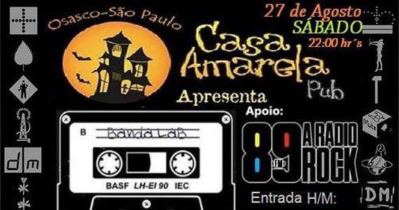 Banda Lab comanda a noite com o melhor do pop rock na Casa Amarela Pub Eventos BaresSP 570x300 imagem
