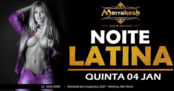 Noite Latina anima a quinta-feira com swing no Marrakesh Club