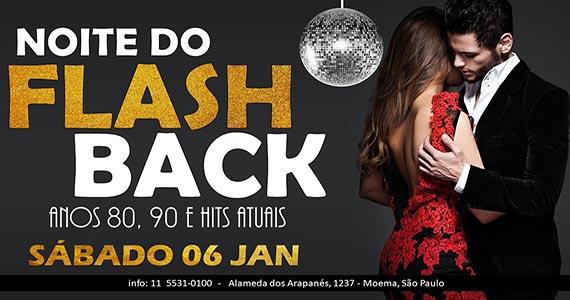 Noite do Flash Back esquenta o sábado com Anos 80 no Marrakesh Club