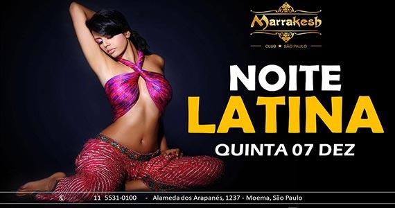 Noite Latina com muito swing esquentando a quinta do Marrakesh Club