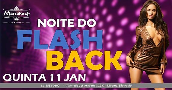 Noite do Flash Back comanda a quinta-feira com muito swing no Marrakesh Club