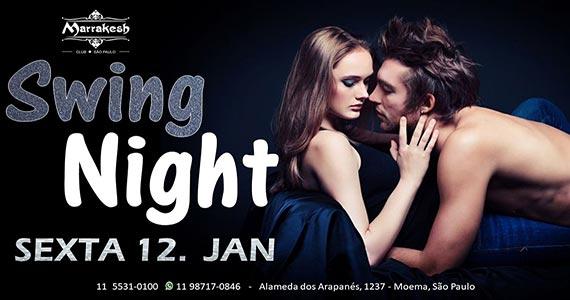 Swing Night esquenta a sexta-feira com muito swing no Marrakesh Club