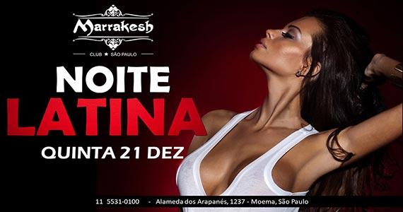 Noite Latina esquenta a quinta-feira com muito swing no Marrakesh Club