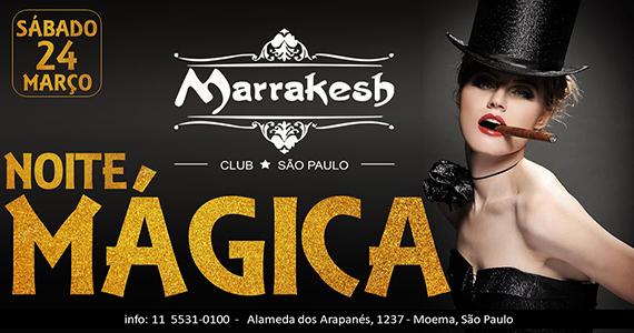Noite Mágica esquenta o sábado com muito swing no Marrakesh Club