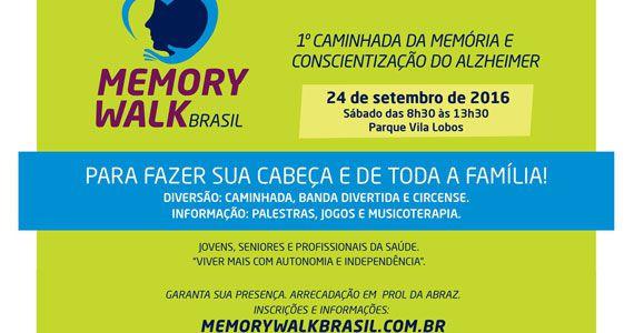 1ª caminhada da Memória e Conscientização do Alzheimer acontece no Parque Villa Lobos Eventos BaresSP 570x300 imagem