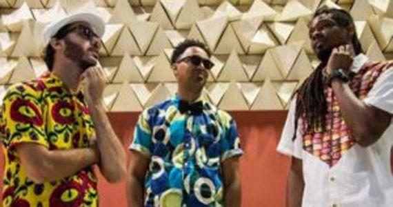 O trio de produtores Mental Abstrato recebe a participação de Bocato e Msário no palco do Bourbon Street Music  Eventos BaresSP 570x300 imagem