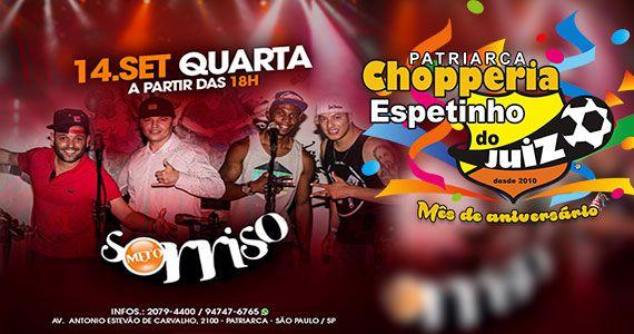 Grupo Mero Sorriso apresenta o melhor do samba no palco do Espetinho do Juiz Eventos BaresSP 570x300 imagem