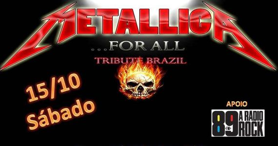 Metallica For All com clássicos do rock no Casa Amarela Pub Eventos BaresSP 570x300 imagem