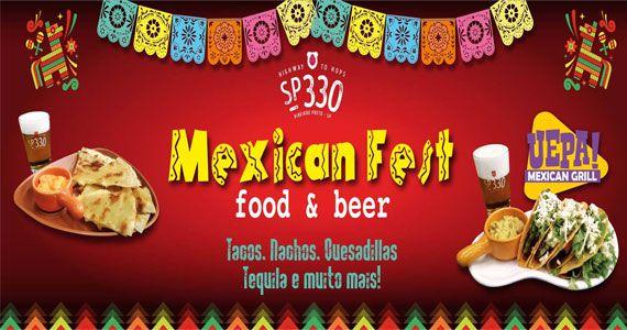 Cervejaria SP 330 promove Mexican Fest Food & Beer com culinária Tex Mex Eventos BaresSP 570x300 imagem